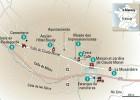 24 horas en Giverny, el mapa