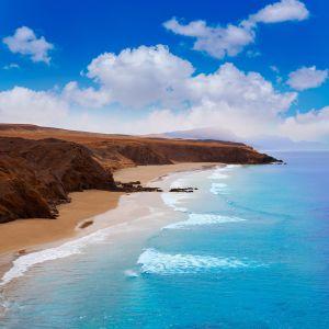 La playa de La Pared, en Jandía (Fuerteventura).