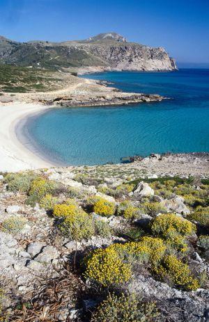 Playa de Sa Font Celada, en Artà (Mallorca).