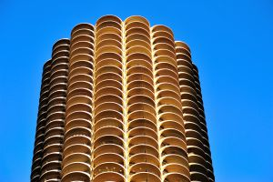 Las torres de Marina City, de Bertrand Goldberg, en Chicago.