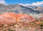 Un arcoíris mineral en Argentina