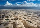 En la cresta de la duna