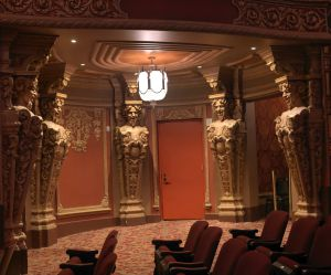 Interior del Kings Theatre, en Brooklyn.