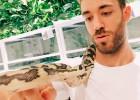 Café con serpiente en Tokio