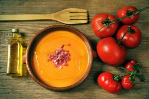 The perfect salmorejo has few ingredients.