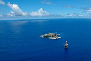 A ilhota de Motu Nui, no arquipélago de Páscoa (Chile)