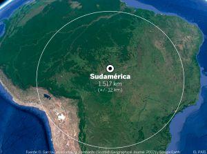 Polo de inacessibilidade da América do Sul, no Estado de Mato Grosso