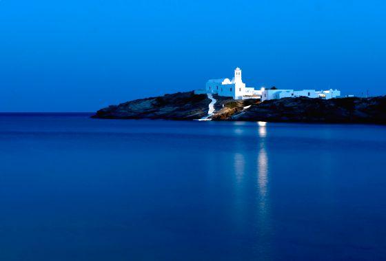 La isla griega de Sifnos.