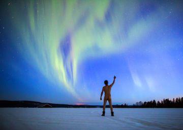 Un brindis a la aurora boreal