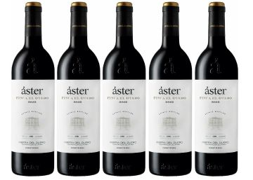 Áster Finca El Otero 2012 , la quinta cosecha