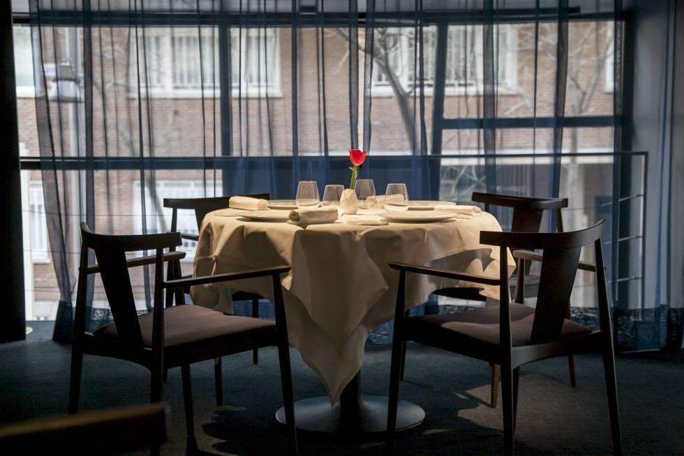 Comedor del restaurante 47 Ronin, en Madrid.