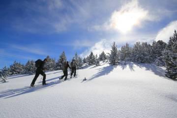 Excursión en raquetas de nieve en Vall de Boí.