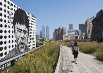 High Line, levitando en Manhattan