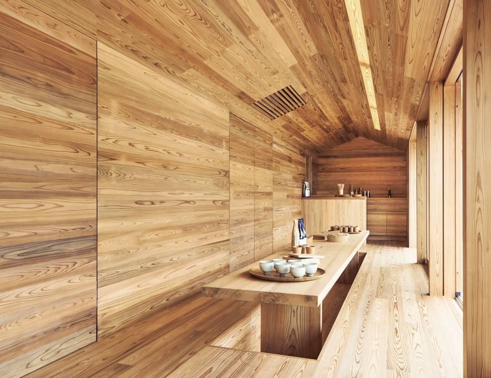 El Kenya Hara's House Vision, un proyecto de Airbnb.