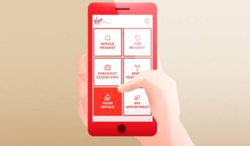La aplicación Lucy de la cadena Virgin Hotels.
