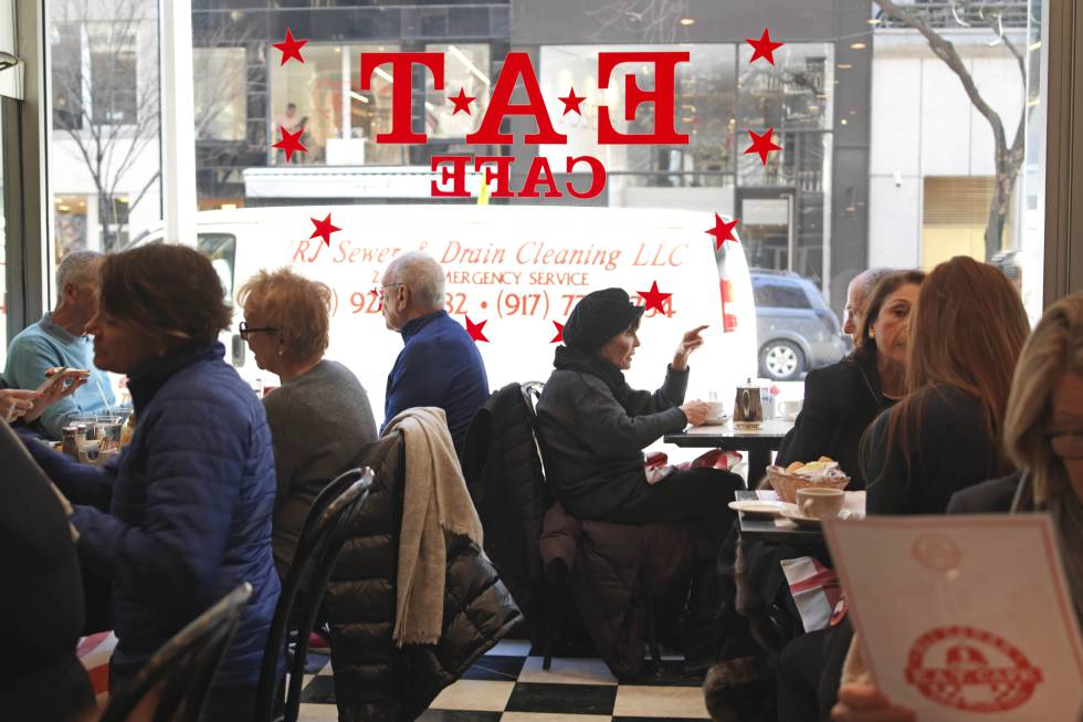 Restaurante E. A. T., en el Upper East Side de Manhattan, en Nueva York.