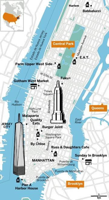 Los 11 mejores restaurantes baratos de Nueva York