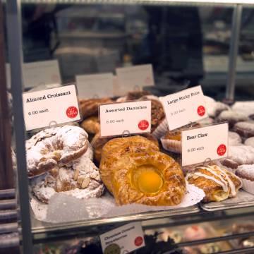 Dulces del E. A. T. Café, en el Upper East Side.