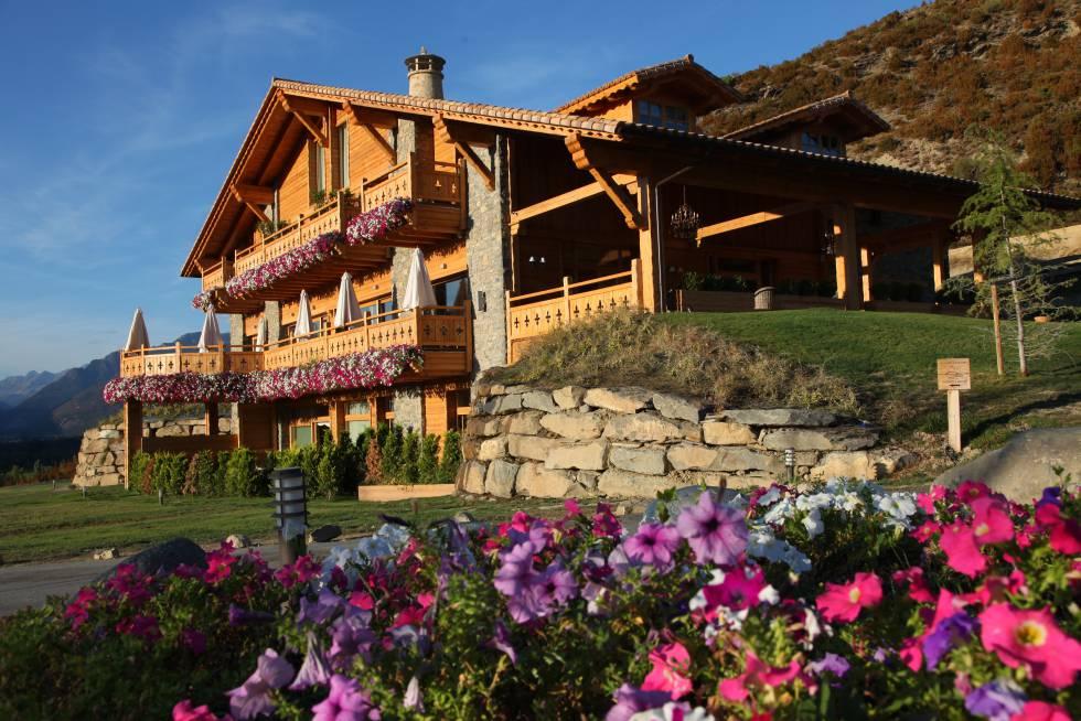 Hotel Viñas de Lárrede, en Huesca.