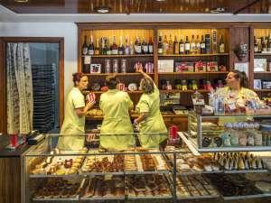 La pastelería Zuricalday, en Las Arenas (Getxo).