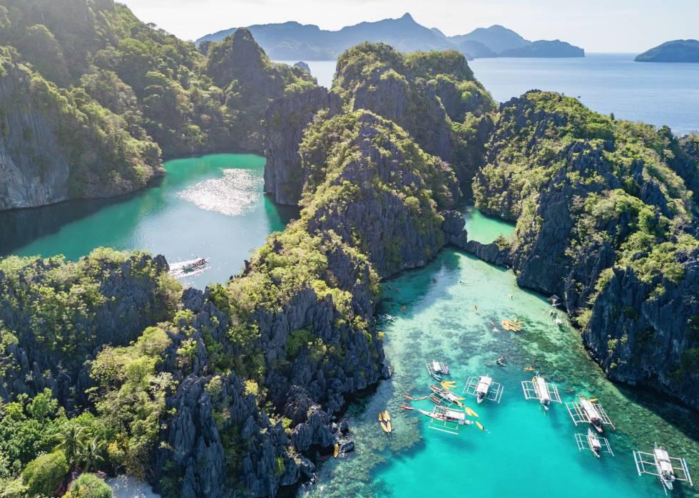 El Nido, em Palawan, nas Filipinas.