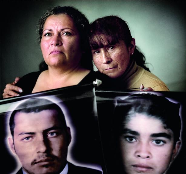 María Ubilerma, Luz Marina bernal | madres de Soacha (Colombia)