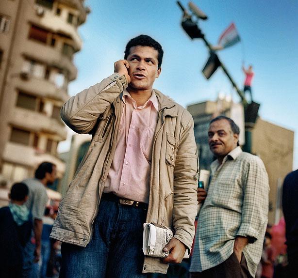 Diaa el Din, bloguero egipcio propalestino