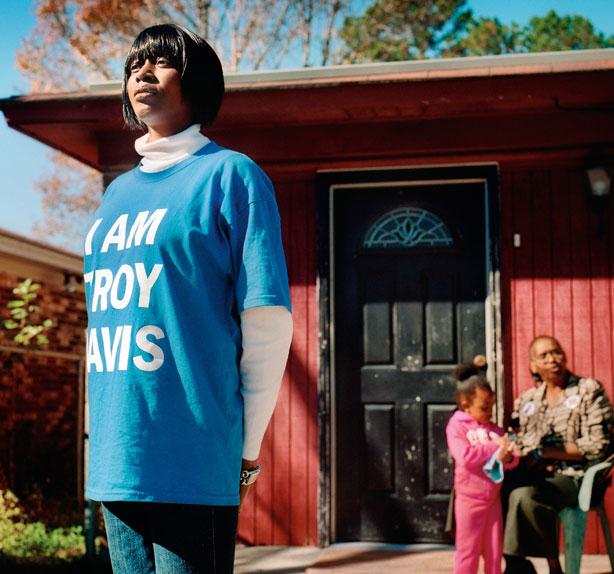 Martina Correia y Victoria Davis, Todos somos Troy Davis (EE UU)