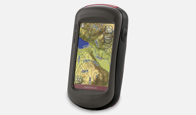 GPS Oregon 550T de Garmin