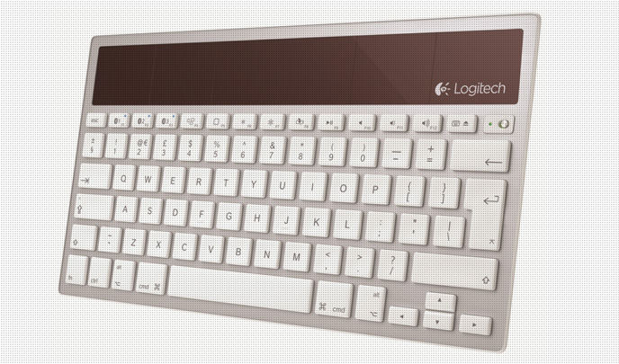 Teclado inalámbrico solar. Compatible para iPhone