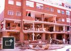 Explosión fachada Leganés