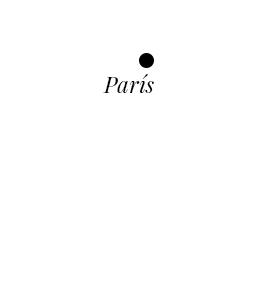 Mapa con París