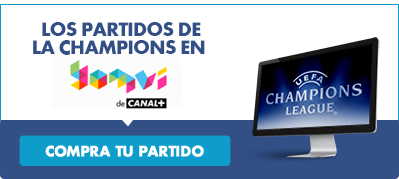 Todos los partidos de Liga de Campeones en Canal Plus