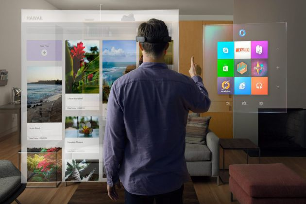 Windows 10 tendrá sus propias gafas holográficas