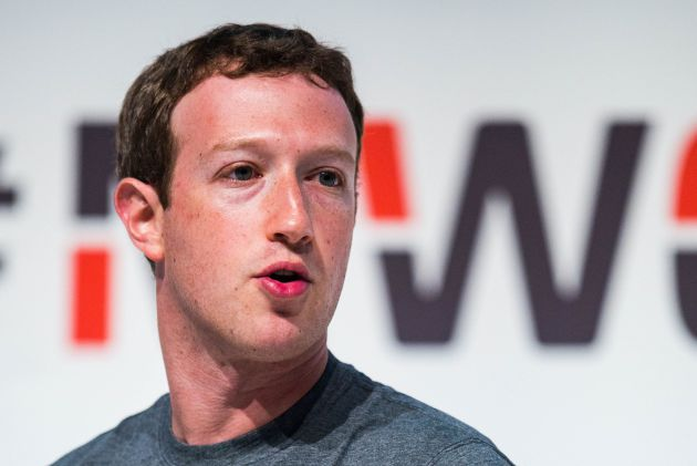 Mark Zuckerberg en el Mobile World Congress (MWC)