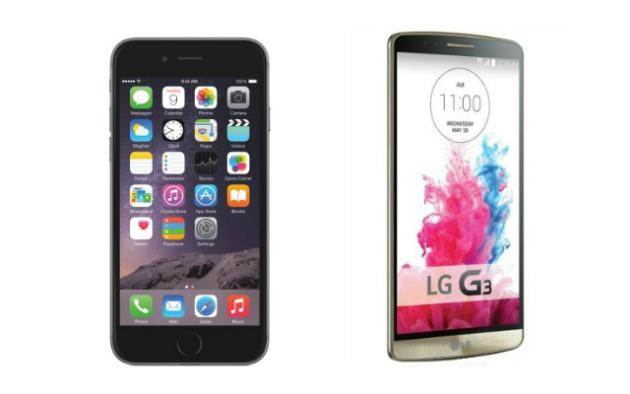 iPhone 6 y LG G3, los mejores móviles del año