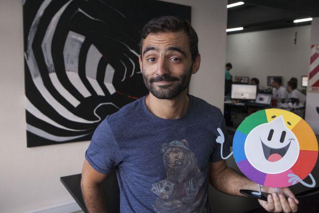 Máximo Cavazzani, creador de 'Apalabrados' y 'Preguntados'.