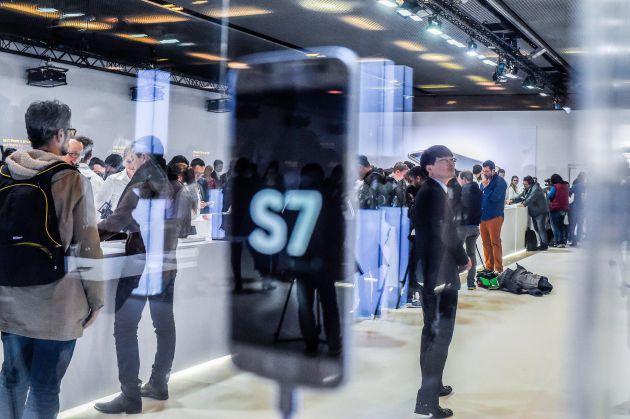 Presentación del Samsung S7 y del S7 edge