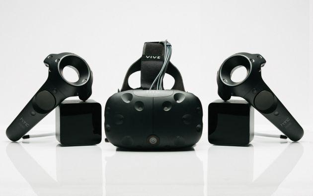 'Vive', el equipo de realidad virtual de HTC presentado hoy en Barcelona.