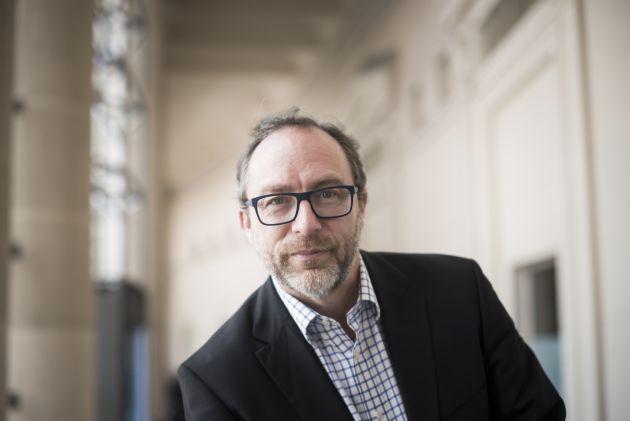 El cofundador de Wikipedia Jimmy Wales.