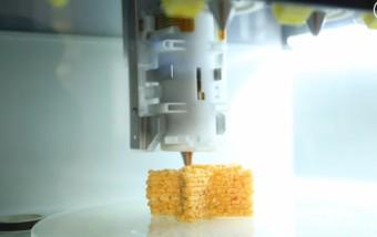 ¿Y si para comer imprimimos una pizza?