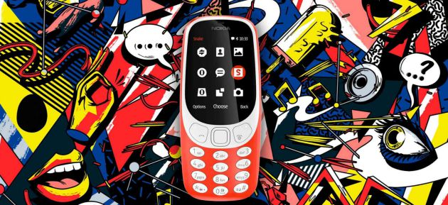 L'antic Nokia 3310, renovat.