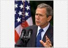 Bush insta a la generosidad con las víctimas de los atentados