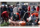 Las inundaciones obligan a evacuar la cárcel francesa de Arles