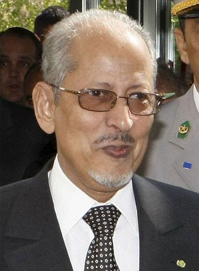 Imagen de archivo del presidente de Mauritania, Sidi Mohamed Ould Cheikh Abdallahi.