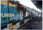 Pasajeros cansados por los retrasos queman dos trenes en la provincia de Buenos Aires