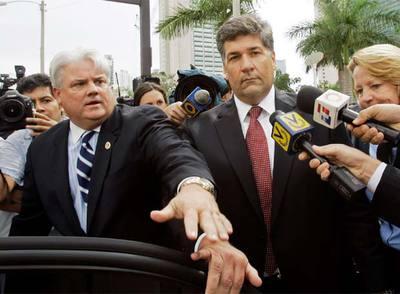 Guido Antonini tras su comparecencia en Miami en septiembre.