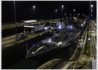 Un buque de guerra ruso cruza por primera vez en 60 años el Canal de Panamá