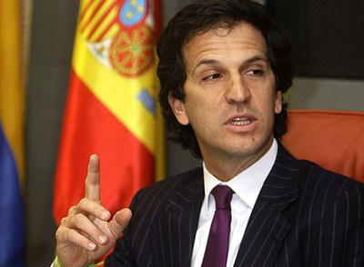 Juan Bermúdez, durante su estancia en Madrid.