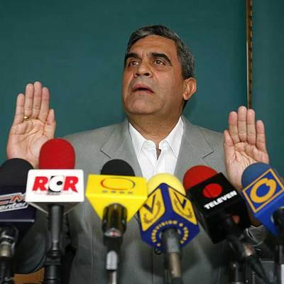 El ex ministro de Defensa venezolano, Raúl Isaías Baduel, en esta foto de archivo